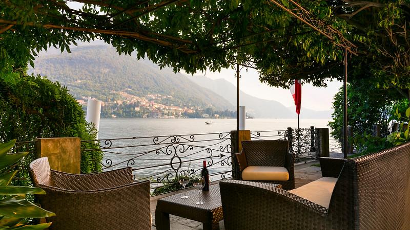 Patio; Lake Como, Como, Italy