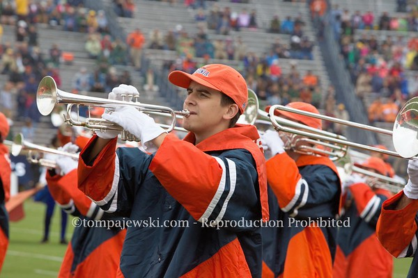 2017 UVA Cavalier Marching Band