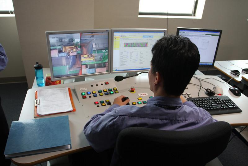 TPCT operator interface
