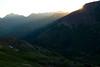 Sunrise over the Elk Range, CO