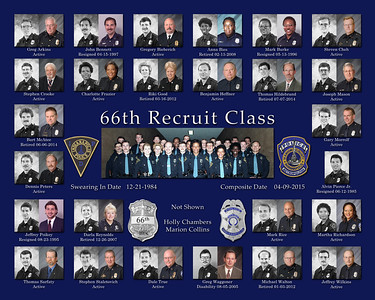 66th Recruit class 12-84to5-85