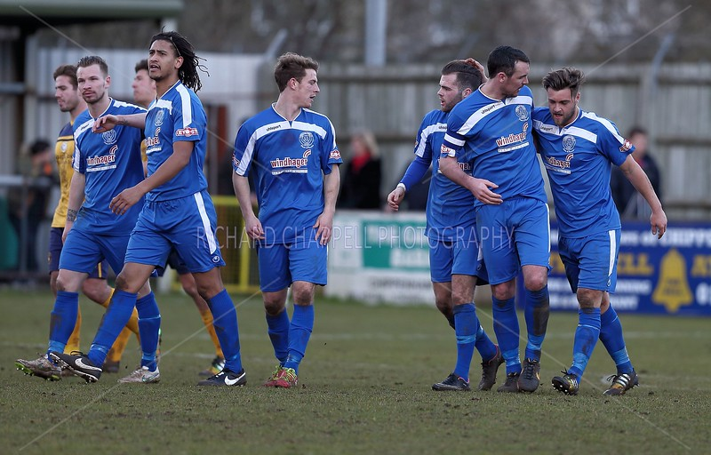 CHIPPENHAM TOWN V SLOUGH TOWN MATCH PICTURES 21st Feb 2015
