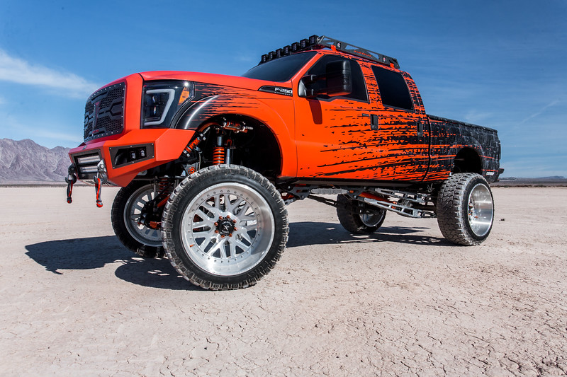 @Truck_Fever 2014 @Ford F250 featuring our 28x16 #CRUX from our Multi-Piece Series wrapped in 42x15.5r28 @FuryOffroadTires-13.jpg