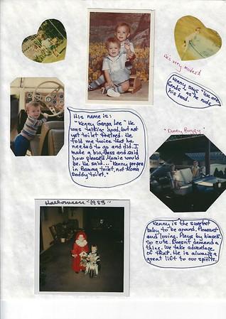 Barbara Lee's scrapbook 1980 - 1985