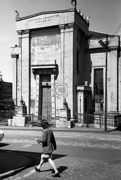 West George St, St Jude's (Stephen, 1839) before it became a restaurant.  