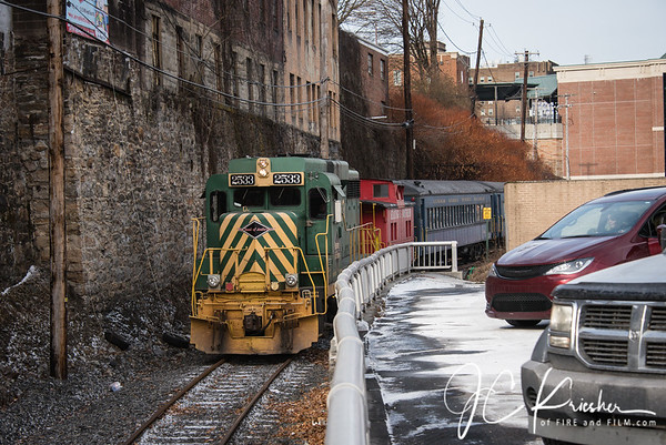 RBMN Santa Train - Pottsville, Pa. - 12/21/2019
