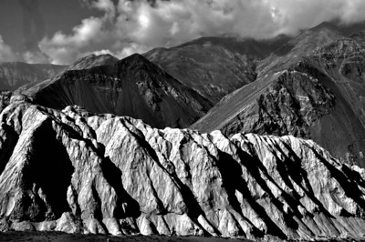 Spiti Photographs in Black & White