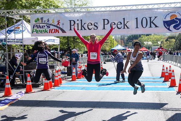 Pikes Peek 10K - Misc Finish Line Photos