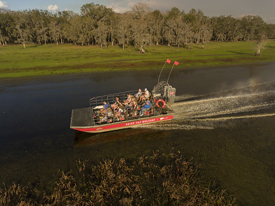 Virgin Branded Airboat 2018