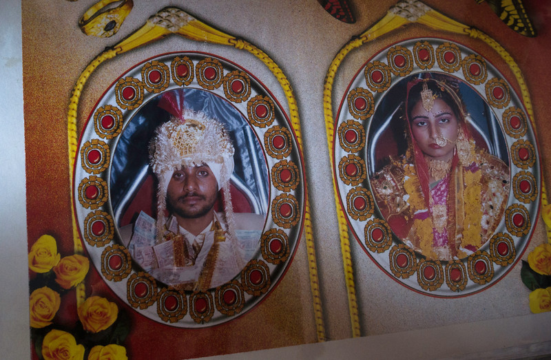 Wedding picture- Gurmor Singh and Daljeet Kaur