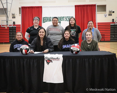 Tori Lasley College Volleyball Signing