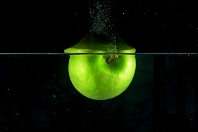 Dropping Fruit into Water
