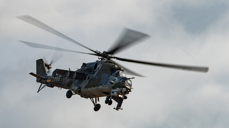 0788, Czech Air Force, Hind, Mi-24V, Mil, RIAT 2007