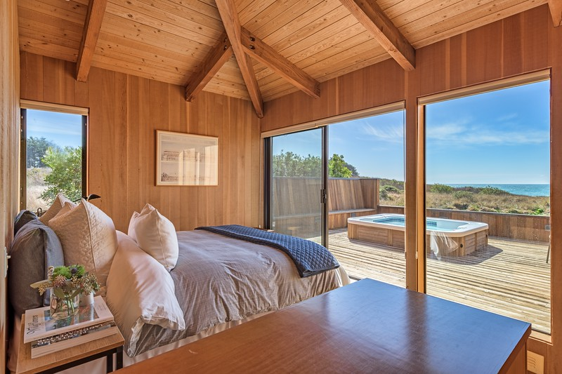 Guest Room with Private Deck and Ocean Views