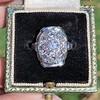 1.82ctw Diamond Cluster Ring 0