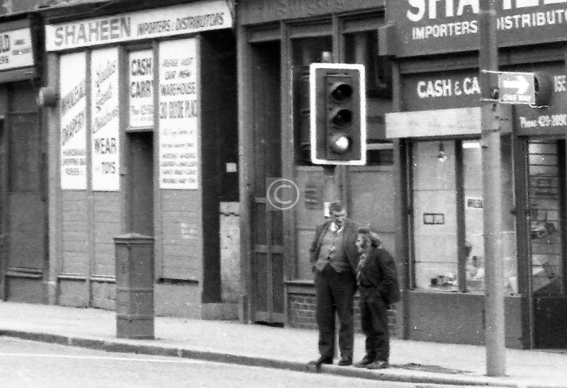 These two buddies must have been weel kent in the Gorbals.