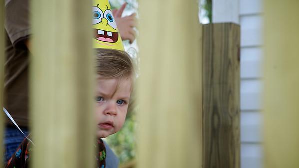 Betsy at Sammy's Birthday Sept 11, 2011