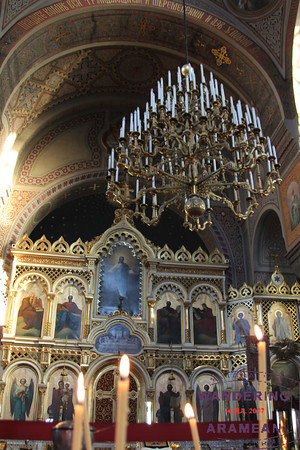 Inside Helsinki's Uspenski Cathedral