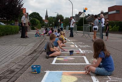 Straattekenwedstrijd Biest 2010