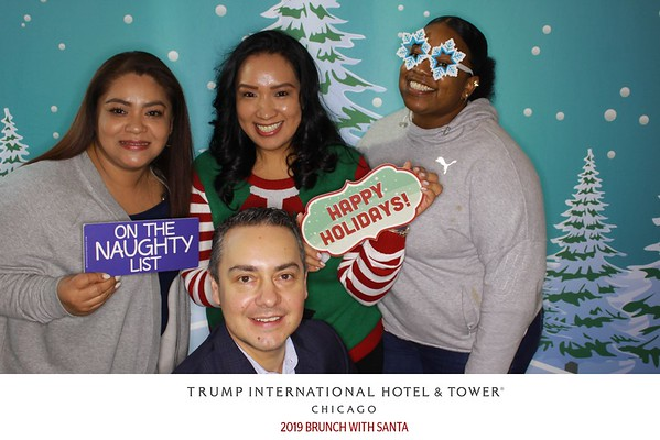 "Trump International Hotel & Tower Chicago ""Brunch with Santa 2019"""