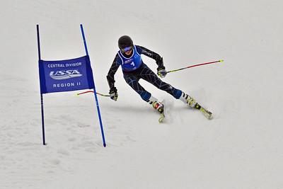 Dec 30-31 Mt Ripley J123 (M) GS 2nd race 1st run