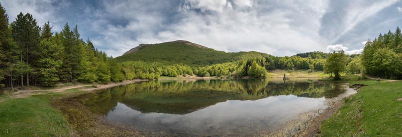 Lake Calamone - Ventasso, Reggio Emilia, Italy - May 10, 2020