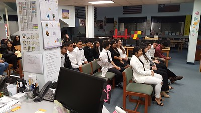 2019 Science National Honor Society Induction