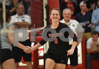 Johnston @ Fort Dodge volleyball