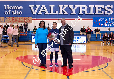 2019-02-15 SHA Girls Basketball Senior Night