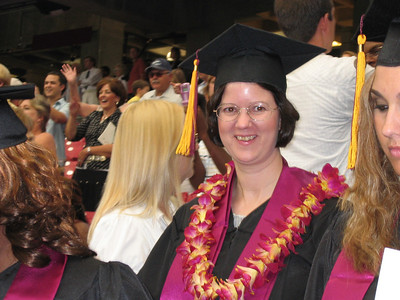 Lori's Graduation from UOP