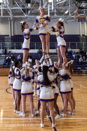 Broughton boys varsity basketball vs. Leesville. January 8, 2019. 750_1734