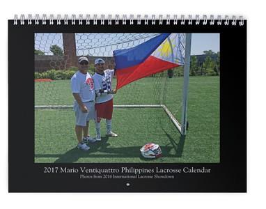 2017 Mario Ventiquattro Calendar
