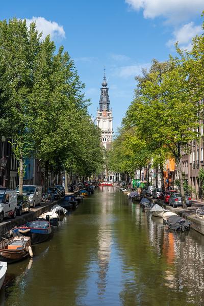Groenburgwal canal in Amsterdam