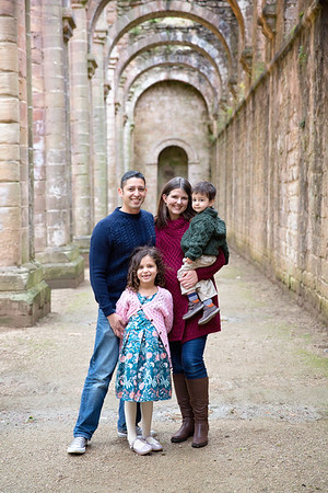 Fountains Abbey Family Session