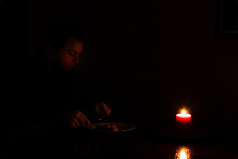 Dinner For 1..... 14/365 2/14/13