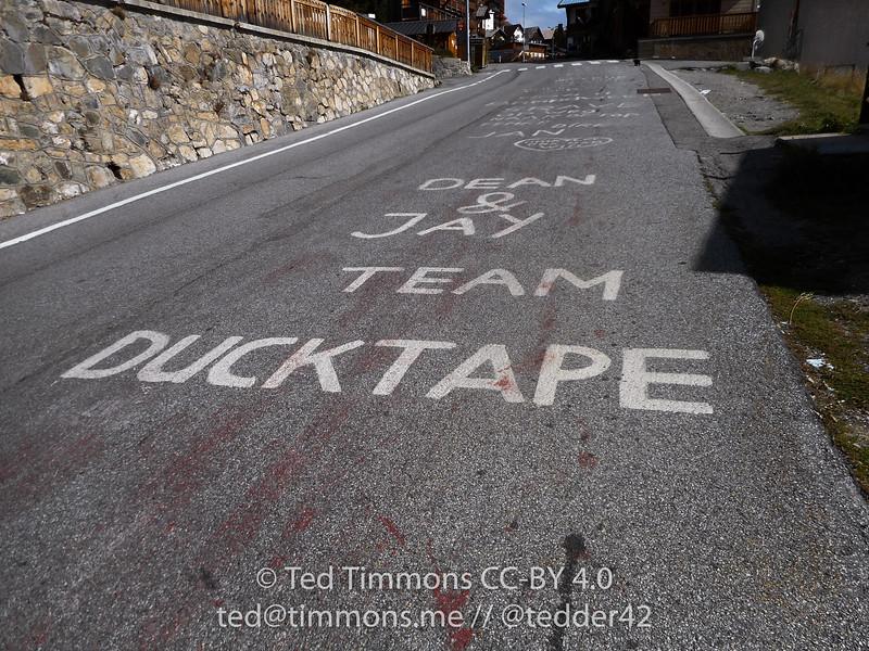Team Ducktape is an amateur Dutch charity team thing.