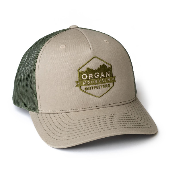 Organ Mountain Outfitters - Outdoor Apparel - Hat - Snapback Trucker Cap - Khaki Olive.jpg