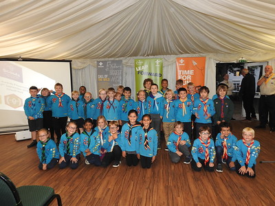 Chief Scout Awards  (Sept 2019)