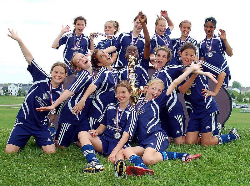2007-2008 FC Milwaukee U13 Girls - Red