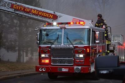 2 Alarm House Fire - Unknown Address, Meriden, CT - 3/4/18