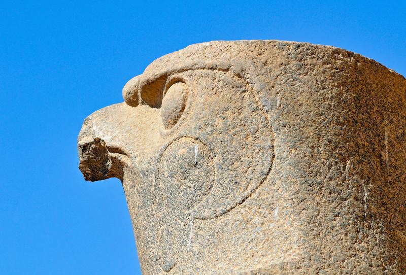 Statue of Falcon God Horus, Edfu