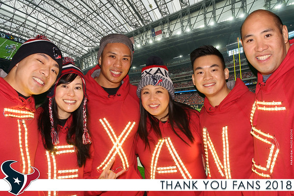 Texans Thank You Fans -  Prints
