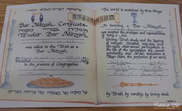 David Barkan Bar Mitzvah