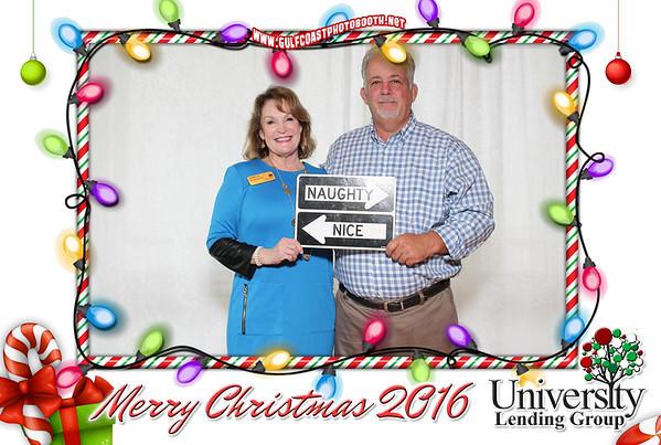 University Lending Christmas 2016 Photo Booth