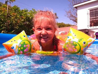 Backyard Pooling
