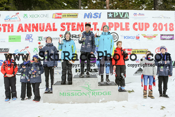 Day 1 Podiums