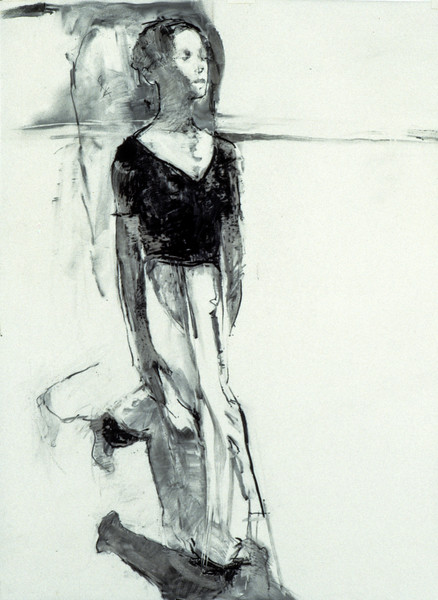 Untitled Drawing - Scottish Royal Ballet (1998)