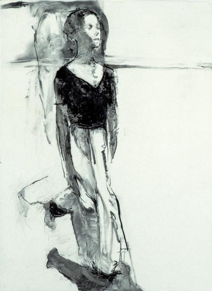Untitled Drawing - Scottish Royal Ballet (1998)