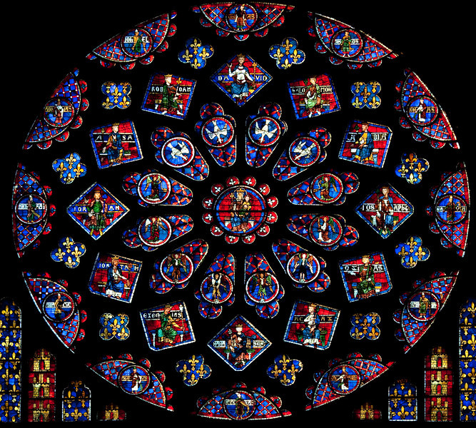 Chartres, Notre-Dame Cathedral South Rose Window