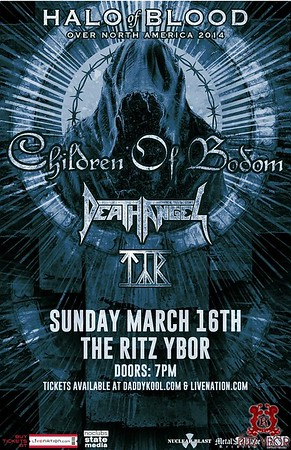 Children of Bodom Sunday, March 16, 2014